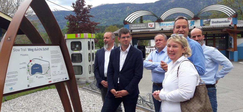 LR Gruber und Vertreter Gde Hermagor